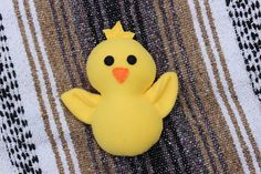 Plush Yellow Fleece Baby Chick by uniqueextras on Etsy https://www.etsy.com/listing/240870090/plush-yellow-fleece-baby-chick
