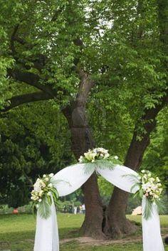 5079431-la-boda-al-aire-libre-de-un-parque.jpg (801×1200)