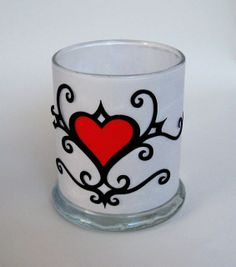 Tutorial: Candle Holder Vellum Heart Decoration