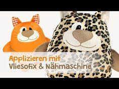 Nähen lernen: Applizieren mit Nähmaschine & Vliesofix® | kullaloo - Nähen für Kinder - YouTube