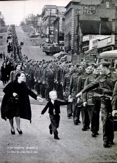 """""""Wait For Me, Daddy"""" becomes the most famous Canadian picture of the Second World War, and one of the most famous of all war pictures. And it was a fluke, a one-in-a-million shot."""