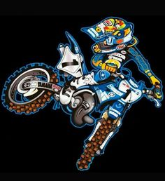 Stream BBB ( Banger By Brennan) by Dime Sacc from desktop or your mobile device Dirt Bike Tattoo, Motorcycle Stickers, Motorcycle Art, Motos Trial, Super Pictures, Japon Illustration, Motos Honda, Club Poster, Motocross Bikes