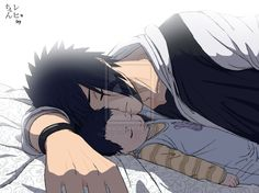 Sasuke and Baby. So adorable !