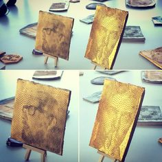 Laser cutter project on tiles by Hex @hex_ceramic #lasercut #lasercutting #lasercutter #tile #pottery #tiles #museum #gallery #artmuseum #artgallery #artoftheday #artist #modernart #artemoderna #kunst #modernekunst #art #kunstleder #kunstlerin #artexhibition #bowie #davidbowie