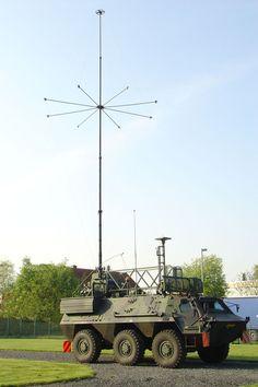 Fuchs-EOV stoorstation (oorlogvoering elettronico)