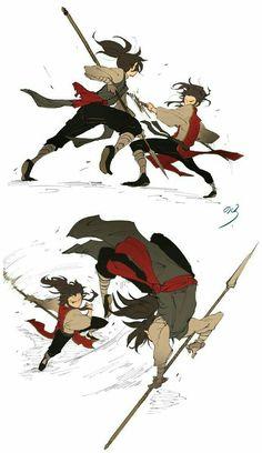 Cosas del anime Dororo (~^v^)~ # Fanfic # amreading # books # wattpad Character Poses, Character Design References, Character Drawing, Character Concept, Concept Art, Action Pose Reference, Drawing Reference Poses, Action Poses, Drawing Poses
