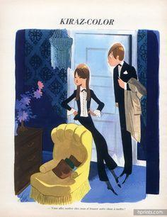 Edmond Kiraz 1970 Les Parisiennes, unisexe fashion