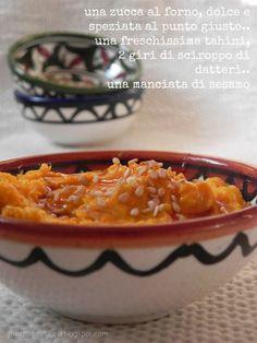 Zucca gialla e tahini by Ghiotto di salute