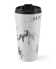 """""""Bamboo in wind and rain"""" Travel Mugs by aplcollections   Redbubble"""