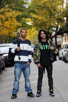Rickey and Welbon #fashion #streetstyle #menswear #rsvp #outerwear