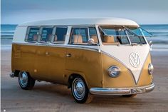 VOLKSWAGON VW TRANSPORTER  BUS POSTER RETRO 70s STYLE 36x24 NEW FREE SHIPPING