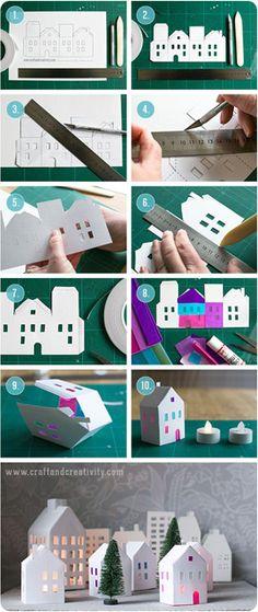 Конструируя домик, маленький или объемный, простой или сложный, сначала создают эскиз. Работу начинают с чертежа.