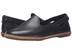 Hush Puppies Sebeka Piper Black Leather - Zappos.com Free Shipping BOTH Ways