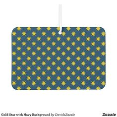 Gold Star with Navy Background Air Freshener Available on many products! Hit the 'available on' tab near the product description to see them all! Thanks for looking!  @zazzle #art #star #pattern #shop #auto #automotive #car #mats #front #rear #air #freshener #accessory #accessories #enthusiast #fashion #style #women #men #shopping #buy #sale #gift #idea #lifestyle #fun #sweet #cool #neat #modern #chic #color