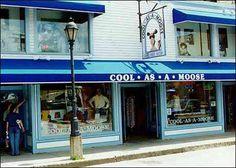 Fun, touristy store in Bar Harbor!