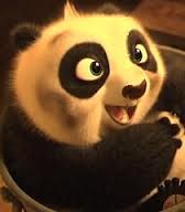The cutest!!! :-)  kung fu panda baby po