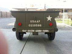 1942 Bantam T3...rear