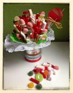Gominolas II: Centros de mesa dulces