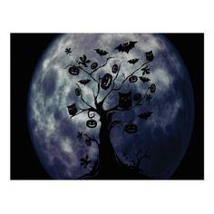 Customize Cool Halloween Postcard - Halloween happyhalloween festival party holiday