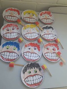 Dental Activities for Kids - Todo Sobre La Salud Bucal 2020 Preschool Classroom, Preschool Activities, Art For Kids, Crafts For Kids, Diy Crafts, Dental Health Month, Health Activities, Health Lessons, Kids Education