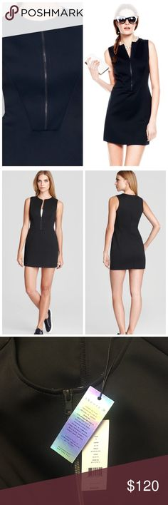 THEORY 38 Silk Windsurf dress NWT. Amid all of the sleek shorts and windbreakers meant to take you from running on the treadmill to running errands, Theory's latest collection of workout-friendly pieces also features a great addition to your collection of little black dresses. Constructed from neoprene, the sporty shift keeps with the active-friendly theme, but is meant for life outside the gym. Wear it under a denim jacket and sneakers during the day and swap in a leather moto and spiky…