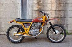 Racing Cafè: Yamaha SR 400 #3 by BratStyle