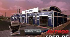 Euro Truck Simulator 2 Yeni Scania Garajı – Garage Mod