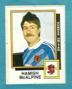 Hamish McAlpine, Dundee United. Legend. Dundee United, Online Scrapbook, Football Stickers, The Unit, Club, Baseball Cards, Trading Cards, Soccer
