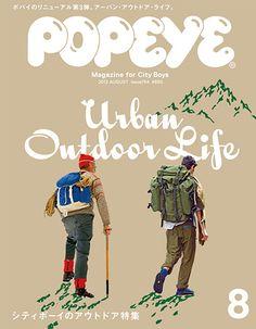 Popeye Magazine August 2012