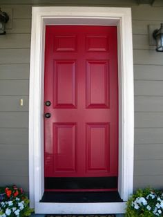 What does having a red door mean | Front doors, Doors and House