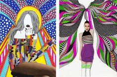 Nikki Farquharson re-inspires fashion illustration
