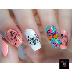 Nailpolis Museum of Nail Art | Butterfly by Love Nails Etc