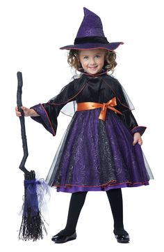 Little Darling Witch Costume @Fantasypartys