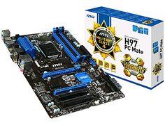 MSI ATX DDR3 2400 LGA 1150 Motherboards H97 PC MATE - http://pctopic.com/motherboards/msi-atx-ddr3-2400-lga-1150-motherboards-h97-pc-mate/