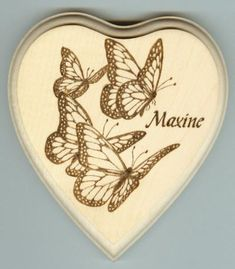 Image result for wood burn butterfly