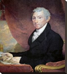 James Monroe by Gilbert Stuart