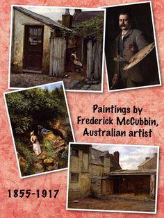 Frederick McCubbin, famed Australian artist.