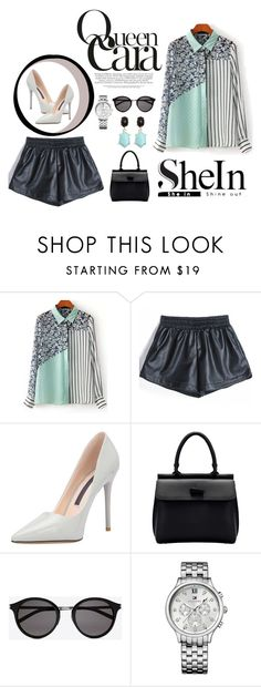 """""""shein"""" by nylover-998 ❤ liked on Polyvore featuring moda, Yves Saint Laurent i Tommy Hilfiger"""