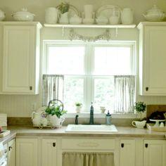 gardinen nähen küche kurze gardinen hängeleuchte | window and live ... - Küche Vorhang