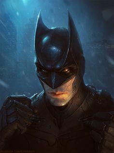 Batman by Petr Passek. Dc Comics, Batman Comics, Batman Batman, Batman Stuff, Batman Artwork, Batman Wallpaper, Batman Poster, Game Character Design, Comic Character