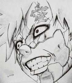 Anyways, here's a drawing I did of him 10 years ago : Naruto Kakashi Drawing, Naruto Drawings, Anime Drawings Sketches, Manga Drawing, Cool Drawings, Anime Naruto, Naruto Gaara, Uzumaki Boruto, Anime Boy Sketch
