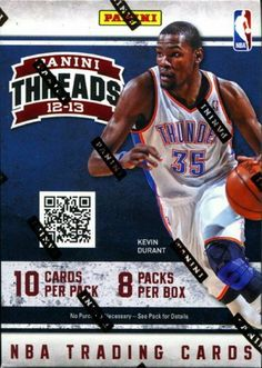 b73dd21d5 Panini Threads Basketball 2012 2013 Series Brand New Factory Sealed  Unopened Blaster Box That Contains 10