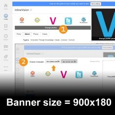 The new banner option for Google+ profiles and pages with a downloadable photoshop template! - http://inlinevision.com/blog/the-new-google-profile-banner-image-size/