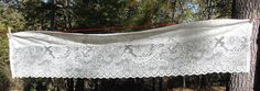 Vintage White Lace Valences/Cafe Curtains  by NopalitoVintageMore, $20.00