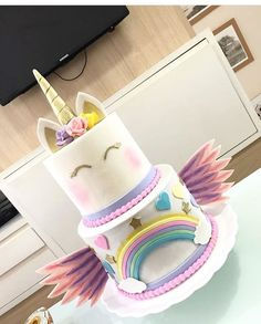 A different kind of unicorn cake