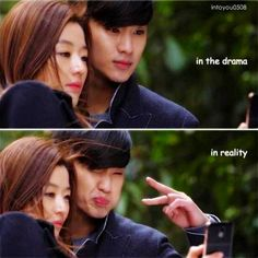[Drama You Who Came From the Stars / My Love From Another Star ★ 별에서 온 그대 Asian Actors, Korean Actresses, Korean Actors, Actors & Actresses, Korean Dramas, My Love From Another Star, Korean Drama Quotes, Jun Ji Hyun, Drama Fever