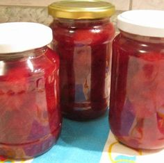 Preserves, Guacamole, Pickles, Jelly, Recipies, Good Food, Food And Drink, Jar, Drinks