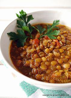 eintopf: harira - marokańska zupa z soczewicy