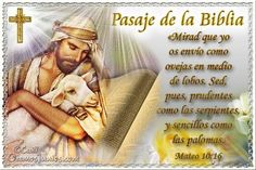 Vidas Santas: Santo Evangelio según san Mateo 10:16