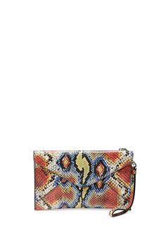 Women Deer And The Sun Printed Zip Around Wallet Phone Clutch Travel Card Holder Purse